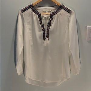 3for$15 Daniel Rainn white v-neck blouse
